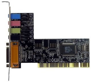 PCI-Soundkarte Anubis SD-8738-4CL Front+Rear ID858