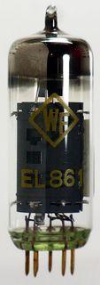 Radio Tube EL861 WF goldpin #969
