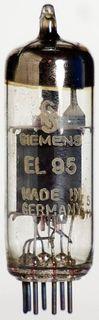Radioröhre EL95 Siemens ID970