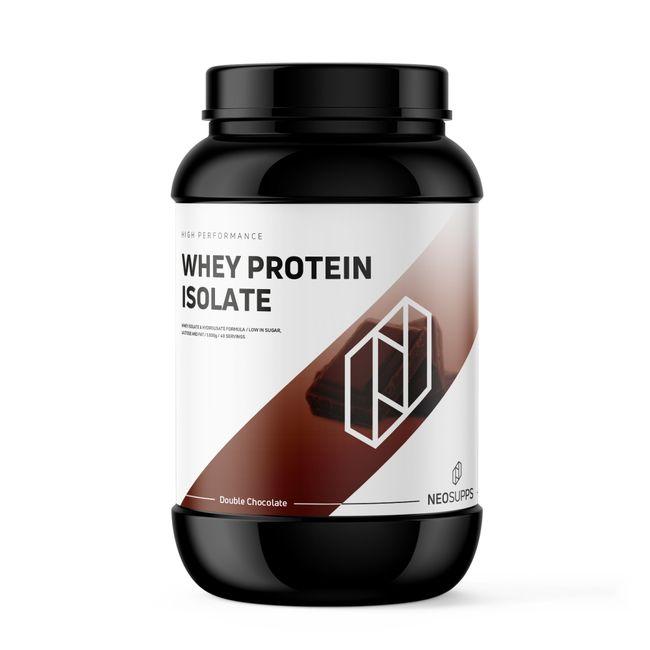 Whey Protein Isolat Double Chocolate 1kg – Bild 1