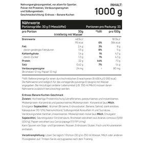 Whey Protein Peanut Banana Cake 1kg – Bild 2
