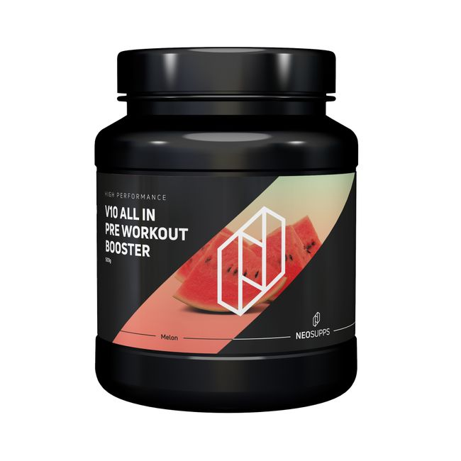 Pre Workout Booster V10 ALL IN 500g - Watermelon – Bild 1