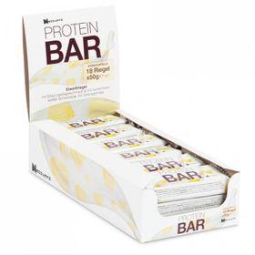 18er Pack Protein Bar Riegel Weiße Schokolade mit Stracciatella – Bild 1