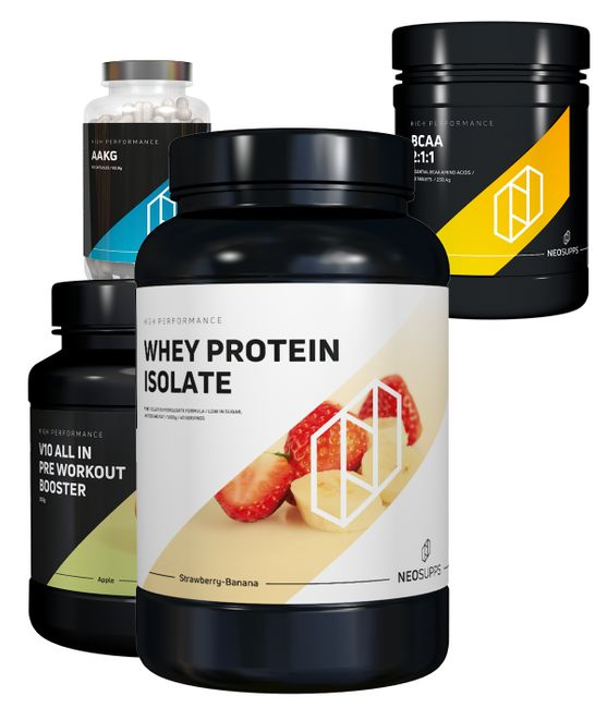 Bundle Trainingserfolg - Strawberry Banana & Green Apple – Bild 1
