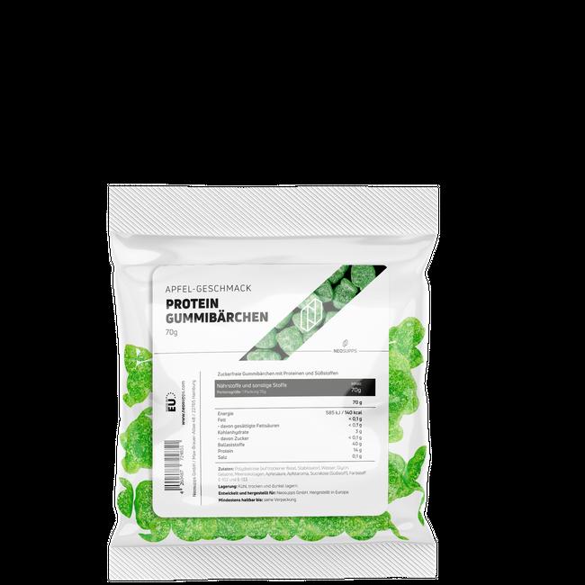 Protein-Gummibärchen Apfel – Bild 2