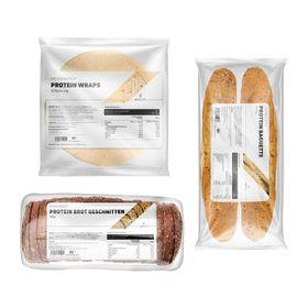 Bundle BREAD THREE Wraps & Protein Baguette & Protein Brot geschnitten – Bild 1