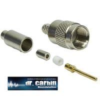 FME Stecker (M), Crimp Version für RG174-Kabel