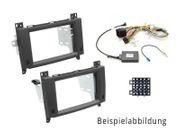 Alpine APF-F391320-13AU - Doppel-DIN Installations-Kit für Audi Rubber Touch