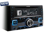 Alpine CDE-W296BT - 2-DIN CD RECEIVER MIT BLUETOOTH