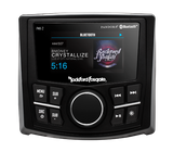 "Rockford-Fosgate PMX-2 Punch Marine Compact AM/FM/WB Digital Media Receiver 2.7"" Display"