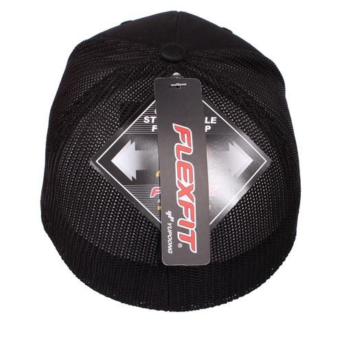 SWAT Fishing Mesh Cap Flexfit Black – Bild 2