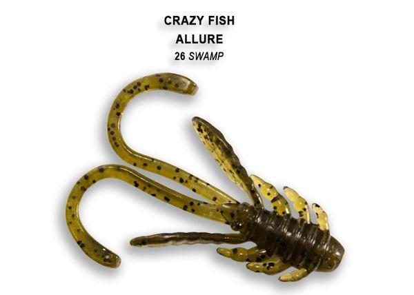 """Allure von Crazy Fish 1.6"""" (4cm) (8pcs) – Bild 5"""