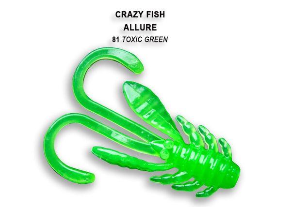 """Allure von Crazy Fish 1.6"""" (4cm) (8pcs) – Bild 16"""