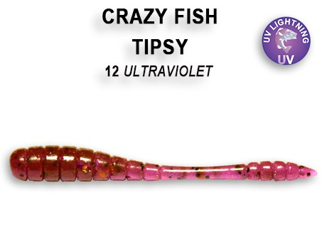 "Tipsy 2"" 5cm von Crazy Fish (8 Stck.) – Bild 11"