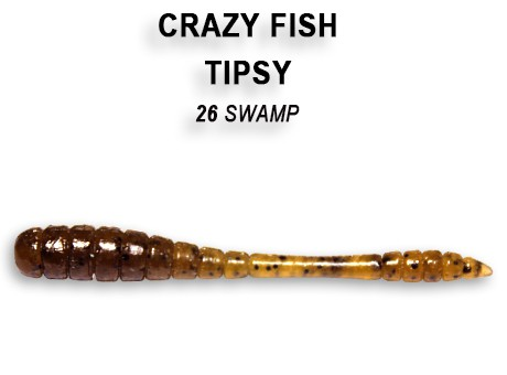 "Tipsy 2"" 5cm von Crazy Fish (8 Stck.) – Bild 24"