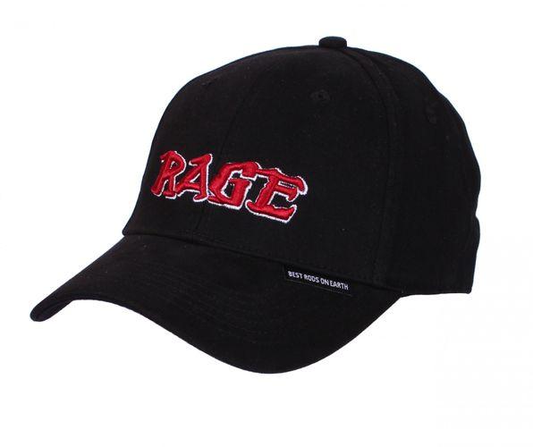 St. Croix Rods Cap Rage Black Flexfit #CRAGEFF (Anglercap für Angler) – Bild 1