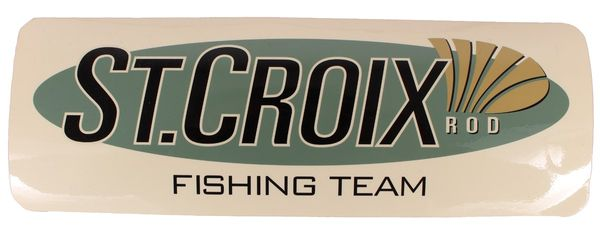 St. Croix Rods Aufkleber Decal Boat Fishing Team #BD
