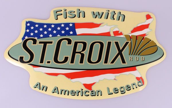 St. Croix Rods Decal Aufkleber #DEC