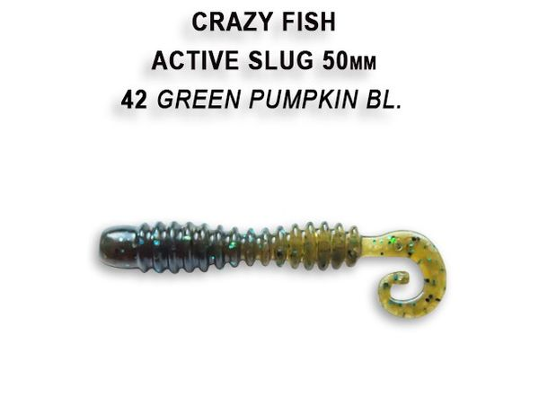 "Active Slug 2"" 5cm New Style von Crazy Fish – Bild 7"