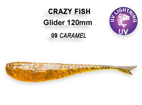 """Glider 5"""" 12cm Crazy Fish (5 Stck) Gummifisch, Gummiköder, Vertikal – Bild 5"""
