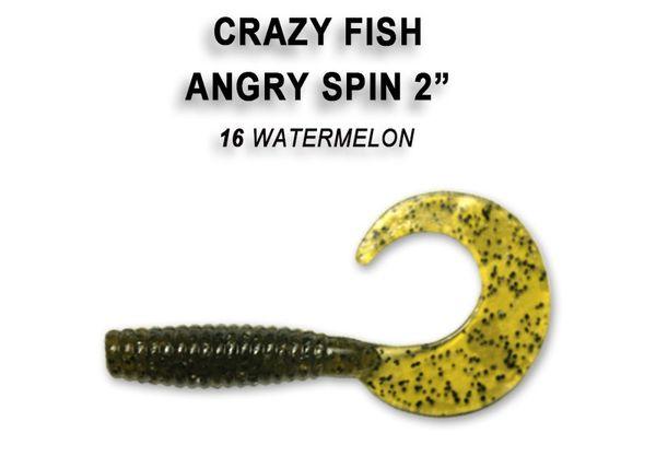 """Angry Spin 2"""" / 4,5cm von Crazy Fish – Bild 7"""
