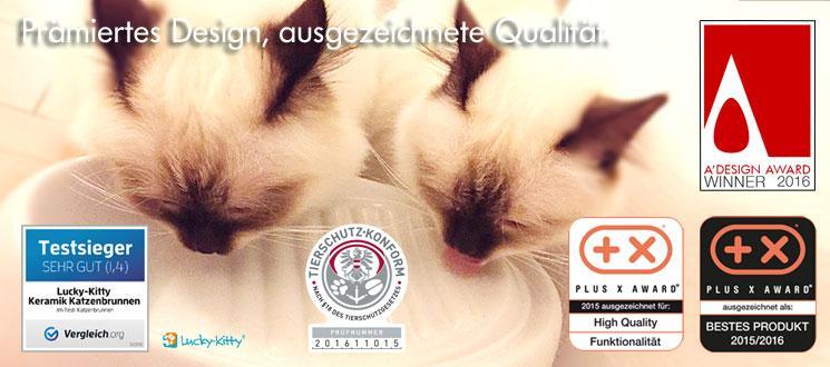 Lucky-Kitty Katzenbrunnen