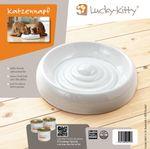 Lucky-Kitty Keramik Katzennapf  XL  (Ø 27cm)