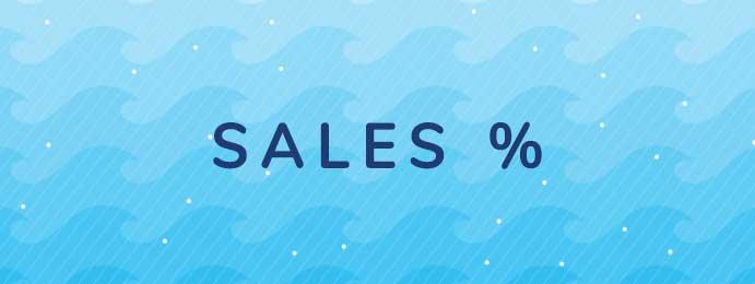 Sales %