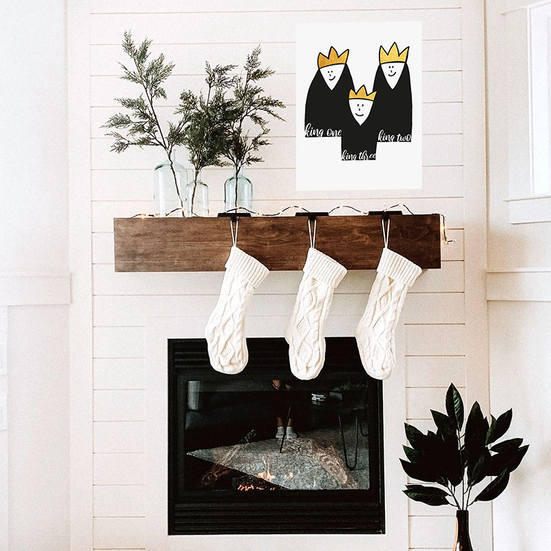 Artland Weihnachten Dekoration Modern
