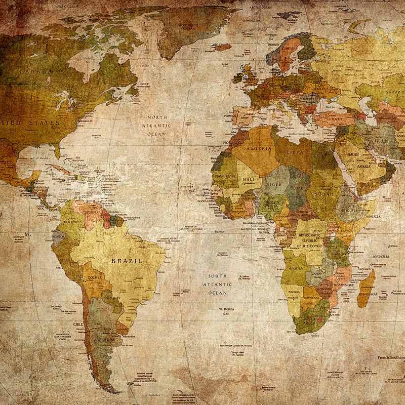 Land- & Weltkarten