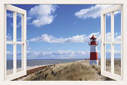 Fensterblick Motive von Artland im Onlineshop ARTgalerie Bildershop
