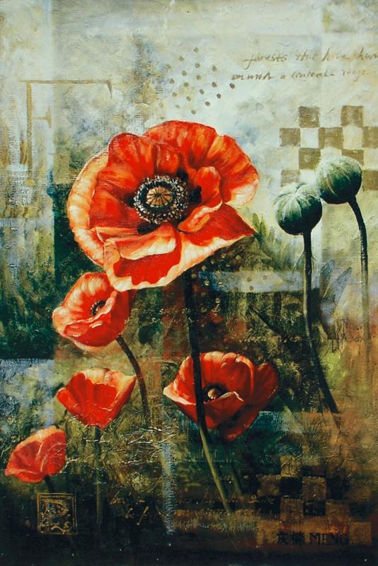 Meng: Abundance - Kunstdruck auf Holzfaserplatte 89 x 59 cm