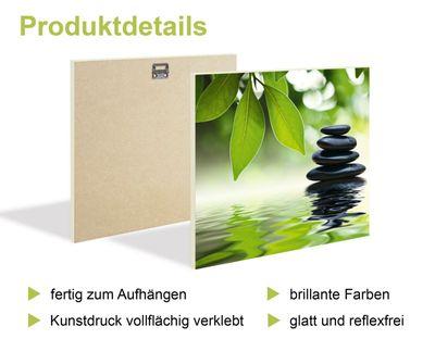Janet Kruskamp: Iris by the lake - Kunstdruck auf Holzfaserplatte 39 x 29 cm