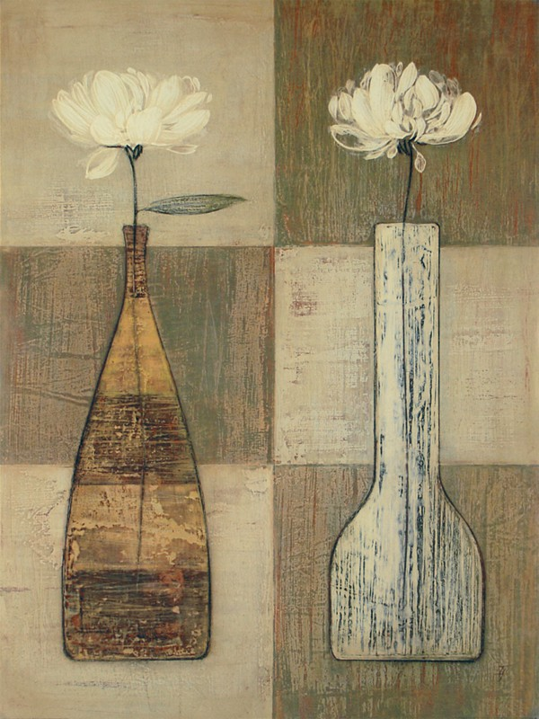 Ivo. The Lipman Collection: Cinnamon Blooms 2 - Kunstdruck auf Holzfaserplatte 79 x 59 cm