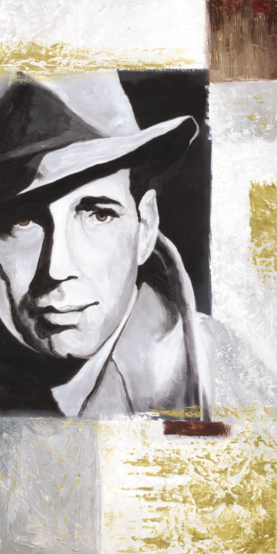 A. S.: Hollywood Legenden III - Original auf Leinwand 100 x 50 cm