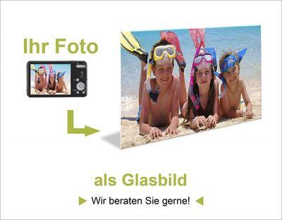 Wunschmotiv: Ihr Foto drucken auf ein Glasbild - Glasbild