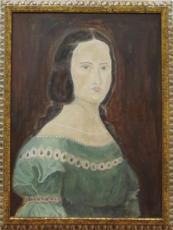 K. Ruis: ohne Titel - Original auf Leinwand, gerahmt 91 x 70 cm