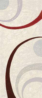 A. S.: Innerer Kreis I - Abstrakt - Original auf Leinwand 70 x 30 cm
