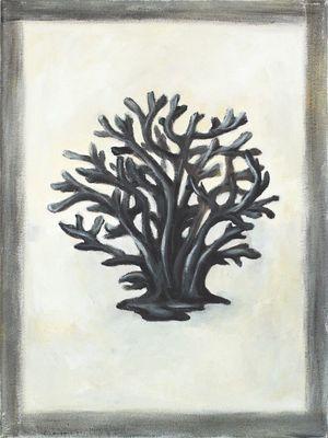 A. S.: Koralle - Original auf Leinwand 40 x 30 cm