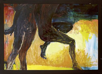 Walicki - Original auf Leinwand, gerahmt 111 x 151 cm