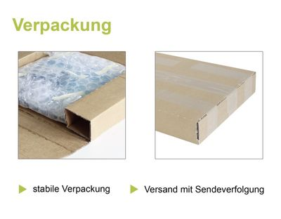 Erika Rauschning: ohne Titel - Aquarell, gerahmt mit Passepartout 80,5 x 65,5 cm
