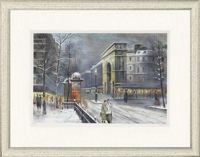 Antonio Rivera: Paris - Original, gerahmt mit Passepartout 74,6 x 96,4 cm