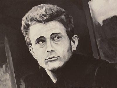 A. Hecht: Starbild - Original auf Leinwand 60 x 80 cm