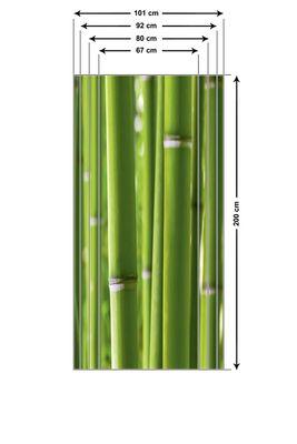 Maceo: Bambuswald - Türbild, selbstklebend