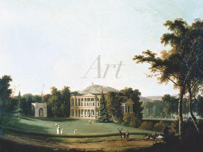 Unbekannter Künstler: Ansicht von West Wickham - Leinwandbild - Poster