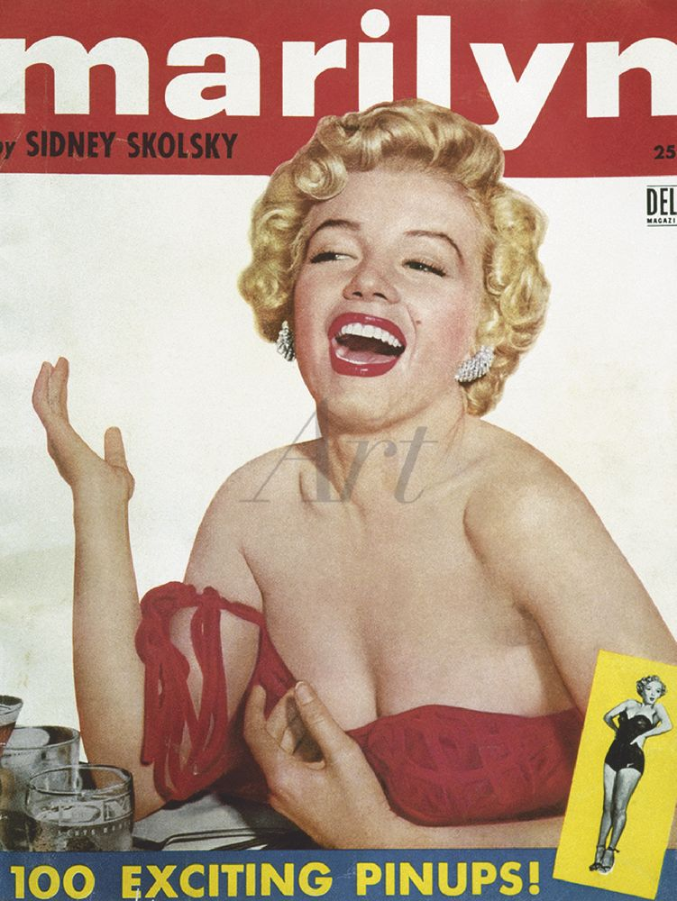 Sydney Skolsky: Marilyn Monroe - Leinwandbild - Poster