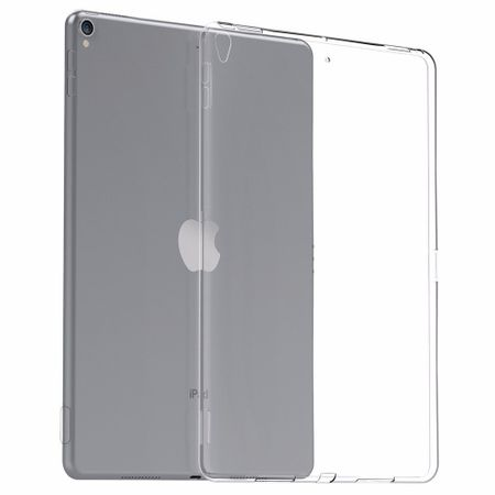 iPad 9.7 2017 (5. Generation) Gummi TPU Silikon Crystal Clear Case Hülle Klar TRANSPARENT – Bild 3