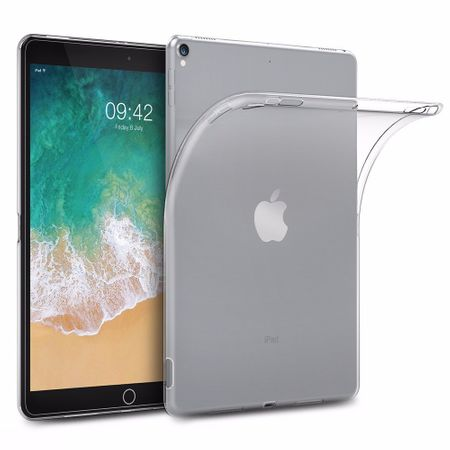 iPad 9.7 2017 (5. Generation) Gummi TPU Silikon Crystal Clear Case Hülle Klar TRANSPARENT – Bild 1
