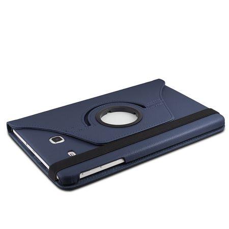 Samsung Galaxy Tab A 2016 10.1 360° Flip Etui Leder Smart Case Tasche Hülle BLAU – Bild 3