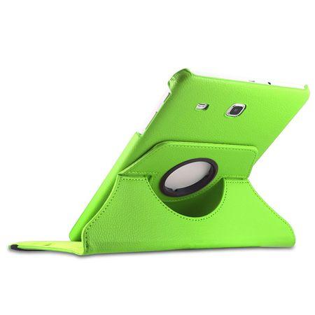 Samsung Galaxy Tab A 2016 10.1 360° Flip Etui Leder Smart Case Tasche Hülle GRÜN – Bild 2